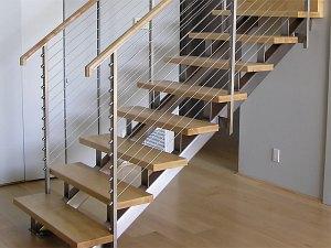 Konstrukcja schodów stalowych